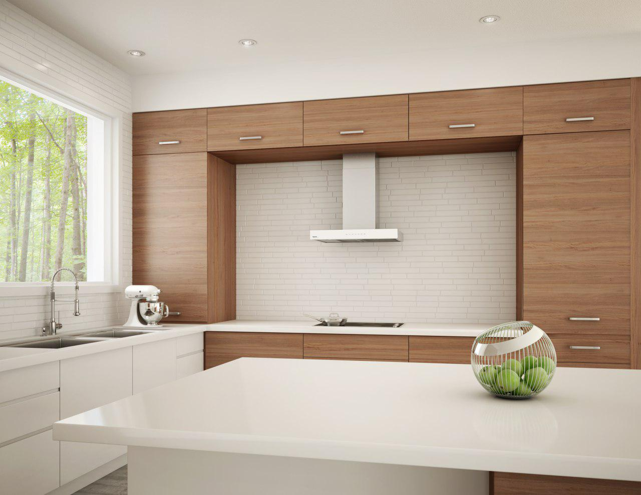 خرید هود آشپزخانه شومینه ای در ساختمان صنعت