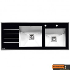 سینک آشپزخانه  ایلیا استیل  مدل 8021