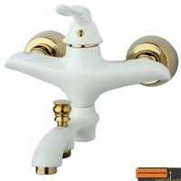 شیر حمام راسان مدل پریمو سفید