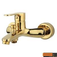 شیر حمام راسان مدل صدف طلایی