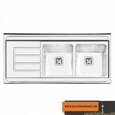 سینک آشپزخانه فانتزی روکار ایلیا استیل  مدل 1053