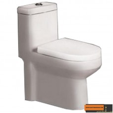 توالت فرنگی آرمیتاژ مدل آلفا توربو درجه دو