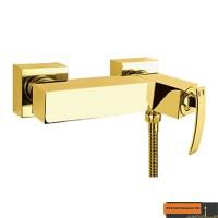 شیر توالت قهرمان مدل فلت صدف طلایی