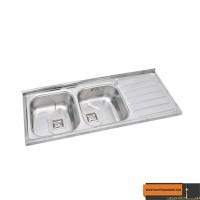 سینک ظرفشویی میلاد مدل SP2024