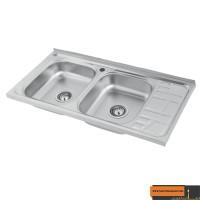 سینک ظرفشویی الماس مدل SA09