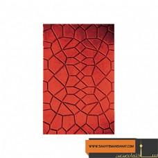 کف پوش بتنی نگینی قرمز پارسیان 40*60 MV 220