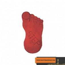 کف پوش طرح پا قرمز پارسیان MV 218