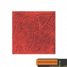 کف پوش سنگ نما قرمز پارسیان 40*40 MV 225