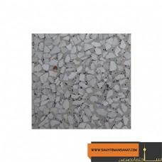 موزاییک صاف چینی بادامی استاندارد پارسیان 40*40 MPS137
