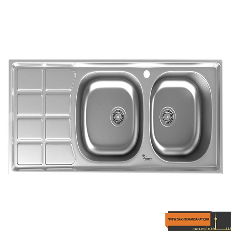 سینک ظرفشویی سیمر مدل S-164