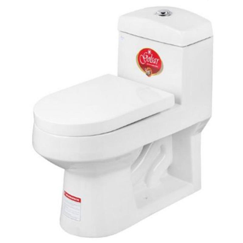 توالت فرنگی گلسار فارس مدل هلیا 60 درجه یک