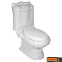 توالت فرنگی گلسار فارس مدل کوئین درجه دو